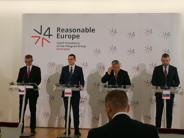 Spotkanie liderów V4. Mateusz Morawiecki wysyła sygnał Brukseli