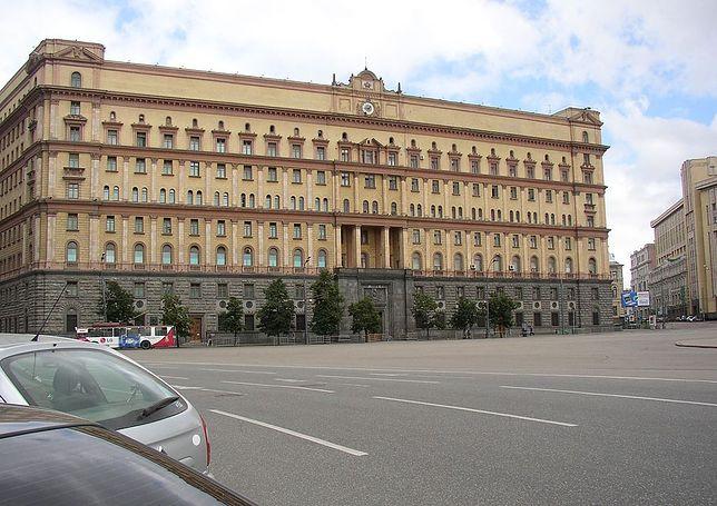 Siedziba KGB znajduje się na Łubiance w Moskwie