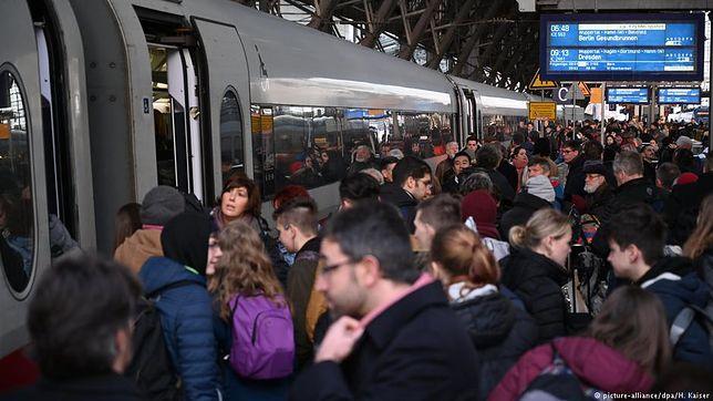Niemcy wściekli na kolej. Ponad 2 tys. ataków na pracowników Deutsche Bahn