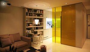 Aranżacja małego mieszkania z ruchomymi ścianami