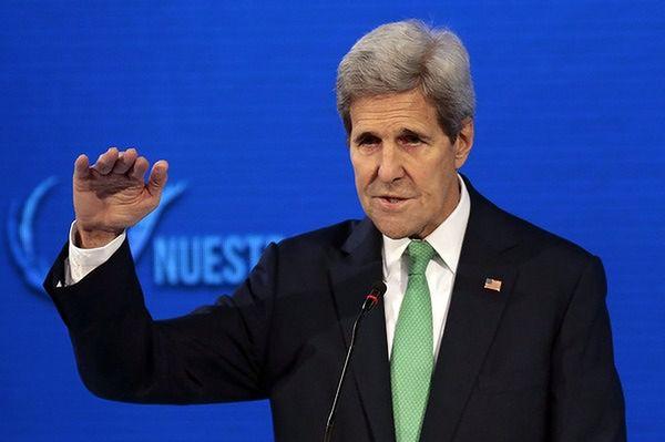 Szef dyplomacji USA rozmawiał o Syrii z szefem MSZ Rosji