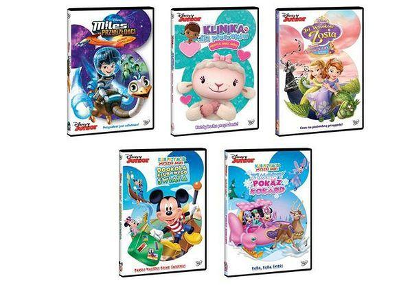 Nowe przygody ulubionych bohaterów Disney Junior już na DVD!
