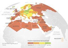Najniebezpieczniejsze miejsca - świat po zamachu w Paryżu
