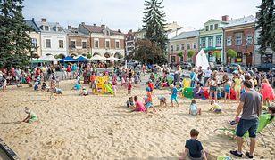 Miejskie plaże - w tych miastach na rynku wypoczniesz na piasku