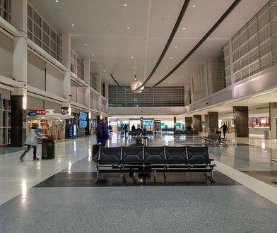 Mężczyznę zatrzymano na lotnisku w Baltimore w stanie Maryland