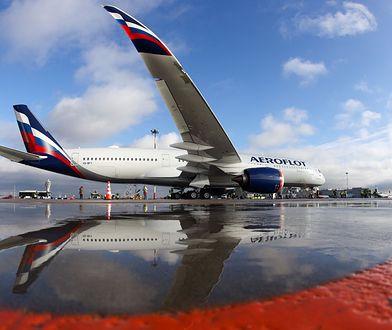 Na chwilę obecną na stronie aeroflot.ru jest brak dostępnych połączeń lotniczych na trasach zagranicznych aż do 1 sierpnia