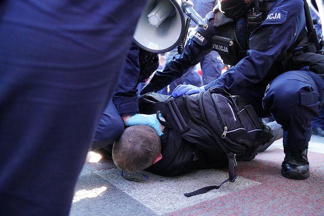 Protest przedsiębiorców w Warszawie. Paweł Tanajno zatrzymany (zdj. ilustracyjne)
