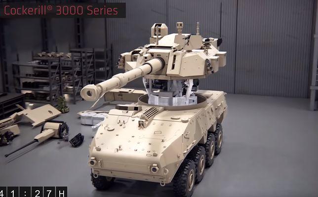CMI Defense z modułową wieżą strzelniczą