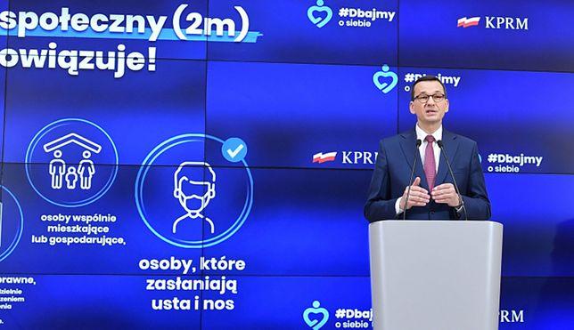 Konferencja premiera. Maseczki nie wszędzie. Nowe zasady w ramach 4. etapu odmrażania gospodarki - harmonogram