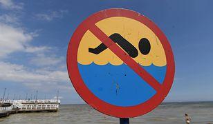 Zachodniopomorskie. Bakteria E.coli w Bałtyku. Sanepid zamknął dwa kąpieliska