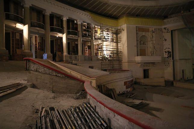 Wnętrze Sali Kongresowej.
