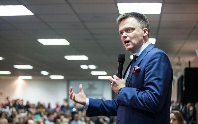 """Szymon Hołownia, kandydat na prezydenta ostro o autorach sformułowań """"tęczowa zaraza"""" i """"ideologia LGBT"""". """"To odczłowieczanie ludzi""""."""