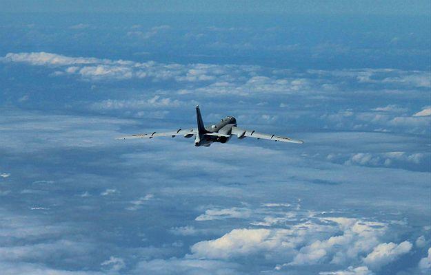 Chińskie bombowce nad Cieśniną Koreańską