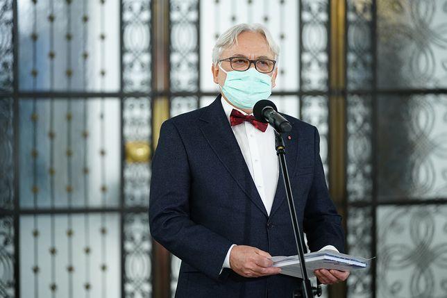 Warszawa, 14.04.2020. 28. posiedzenie Sejmu IX kadencji; n/z Wojciech Maksymowicz