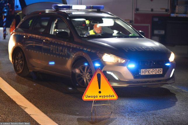 Tragiczna niedziela na drogach. Pożar na A4 i wypadek BMW