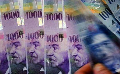 EBC osłabia… franka