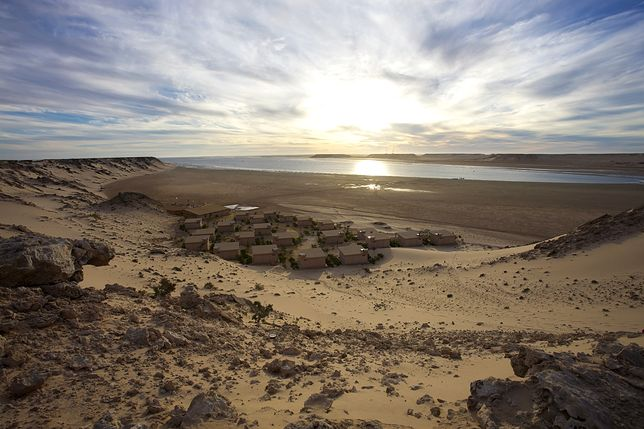 Plaże Afryki - Dakhla, Maroko