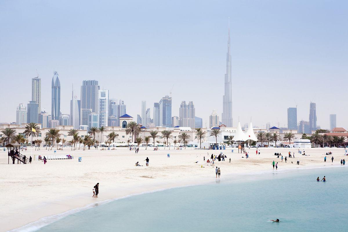 Plaża w Dubaju