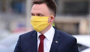 Szymon Hołownia, niezależny kandydat na prezydenta