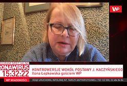 """Ilona Łepkowska o swoim liście do Jarosława Kaczyńskiego. """"Absolutnie tego nie żałuję"""""""