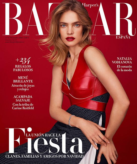 "Natalia Vodianova w ""Harper's Bazaar Spain"""