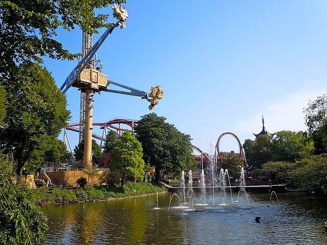 Ogrody Tivoli znajdują się w centrum Kopenhagi