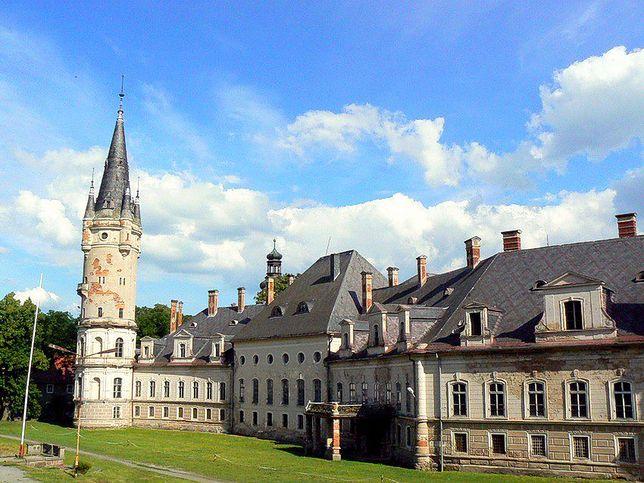 Pałac w Bożkowie, Dolny Śląsk