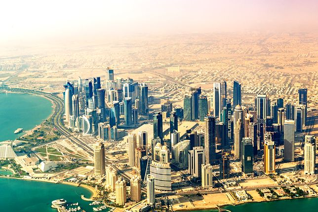 Doha to stolica i największe miasto Kataru