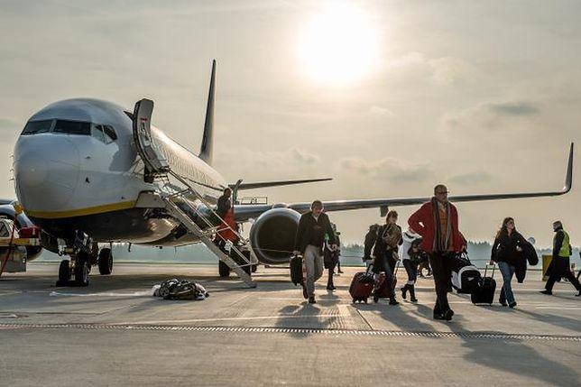 Ryanair - nowy samolot w gdańskiej bazie