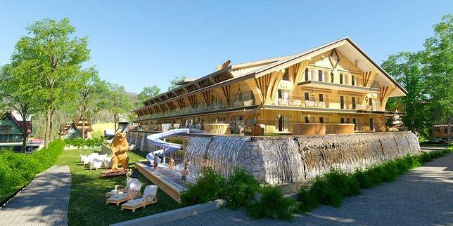Wizualizacja hotelu Mountain Diamond