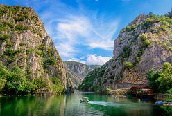 Macedoński raj. Kanion Matka pod Skopje