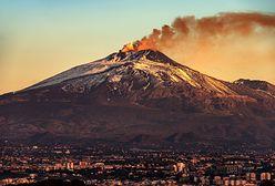 Zaskakujące doniesienia z Włoch. Chodzi o wulkan Etna