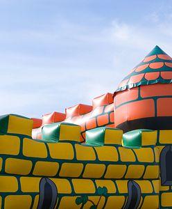 Islandia. Wiatr porwał dmuchany zamek. W środku były dzieci