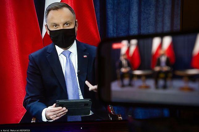 """Sędziowie TK: """"Ostatnia wypowiedź prezydenta Andrzeja Dudy była nacechowana pogardą"""""""