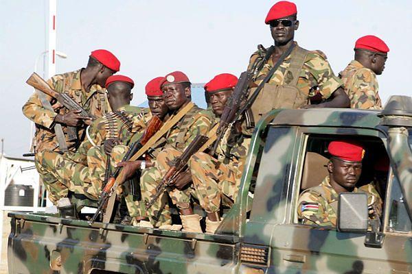 Żołnierze Sudanu Południowego