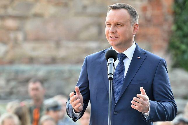Prezydent Andrzej Duda przemówi do Zgromadzenia Narodowego