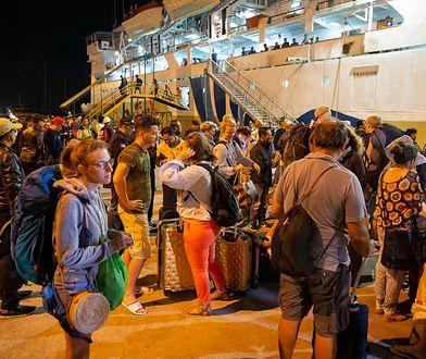 Ewakuacja turystów z wyspy Lombok