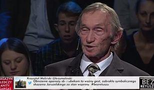 Wstrząsające wspomnienia opozycjonisty na antenie TVP Info