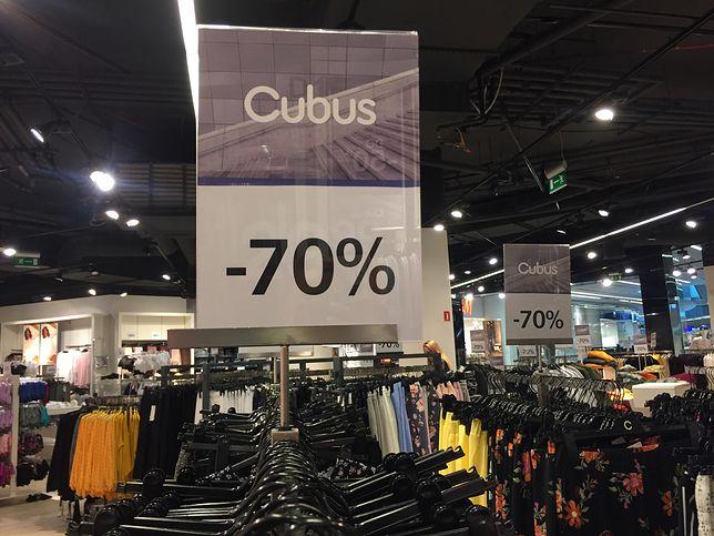 Zniżki w Cubusie sięgają 70 proc. Prawie cały asortyment jest w promocji.