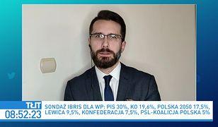 Sondaż IBRiS dla WP. Radosław Fogiel komentuje