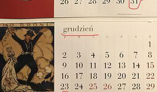 Błędy dotyczą ostatniego dnia listopada i całego grudnia