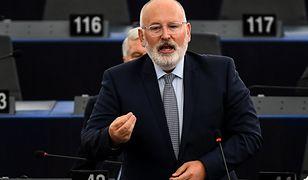 Przygotowany przez Timmermansa pozew to konsekwencja odpowiedzi Polski na zarzuty wobec ustawy o Sądzie Najwyższym