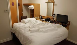 Jake Archer zmienił wystrój niefunkcjonalnego pokoju hotelowego