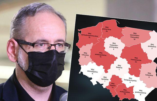 Adam Niedzielski mówi wprost: to od szczepień zależą kolejne lockdowny