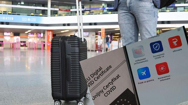 Paszport covidowy w telefonie
