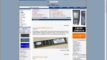 Upadek vortalu FrazPC.pl — czy można było tego uniknąć? - Tak wyglądała strona główna FrazPC w lutym 2002 roku.
