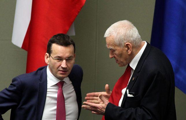 Kornel Morawiecki doradza Mateuszowi Morawieckiemu