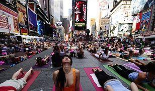 Times Square ucichł