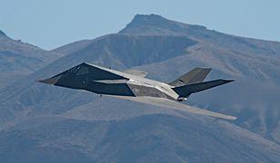 F-117 przyłapano nad Doliną Śmierci