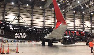 """United Airlines świętuje nadchodzącą część """"Gwiezdnych wojen"""""""